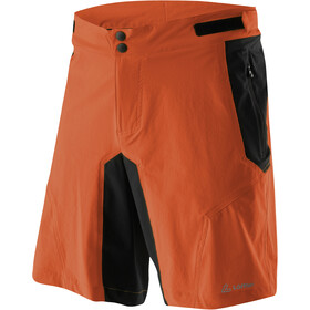 Löffler Tourano Comfort Stretch Light Bike Shorts Men safran